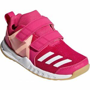 adidas FORTAGYM CF K růžová 4.5 - Dětská sportovní obuv