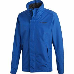 adidas AX JACKET modrá S - Pánská outdoorová bunda