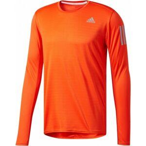 adidas RS LS TEE M oranžová XXL - Pánské tričko