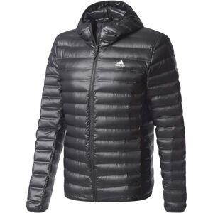 adidas VARILITE HOODED JACKET černá L - Pánská outdoorová bunda