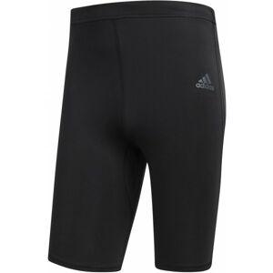 adidas RS SH TIGHT M černá L - Pánské elastické kraťasy