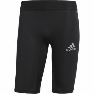 adidas ALPHASKIN SPORT SHORT TIGHTS  M černá S - Pánské spodní trenky