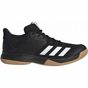 adidas LIGRA 6 černá 6.5 - Pánská volejbalová obuv