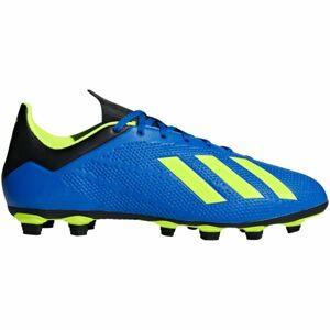 adidas X 18.4 FG modrá 10.5 - Pánské kopačky