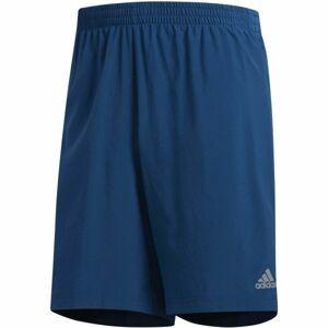 adidas OWN THE RUN 2N1 modrá L - Pánské běžecké šortky