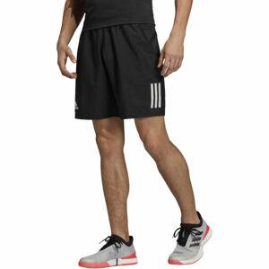 adidas CLUB 3STR SHORT černá S - Pánské tenisové kraťasy
