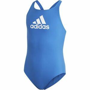 adidas YA BOS SUIT modrá 128 - Dívčí plavky