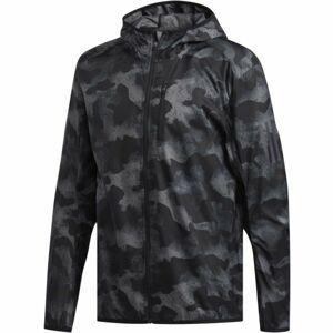 adidas OWN THE RUN JKT šedá L - Pánská běžecká bunda