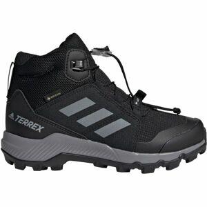 adidas TERREX MID GTX K fialová 4.5 - Dětská outdoorová obuv