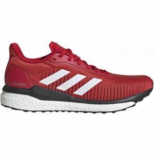 adidas SOLAR DRIVE 19 červená 8.5 - Pánská běžecká obuv