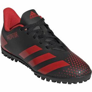 adidas PREDATOR 20.4 TF J černá 3 - Juniorské turfy