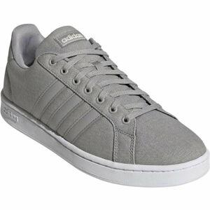 adidas GRAND COURT šedá 11 - Pánská volnočasová obuv