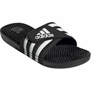 adidas ADISSAGE černá 13 - Pánské pantofle