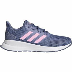 adidas FALCON K fialová 32 - Dětská běžecká obuv
