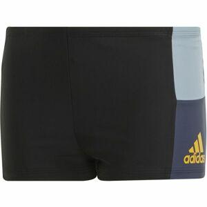 adidas INF CB BX BOY černá 164 - Chlapecké plavky