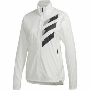 adidas AGR WIND J bílá XL - Dámská sportovní bunda