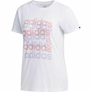 adidas BIG GFX TEE bílá S - Dámské tričko