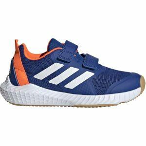 adidas FORTAGYM CF K modrá 29 - Dětská sálová obuv