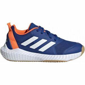 adidas FORTAGYM K modrá 5 - Dětská sálová obuv