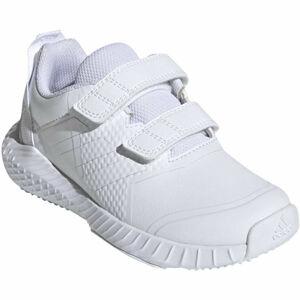adidas FORTAGYM CF K bílá 33 - Dětská indoorová obuv
