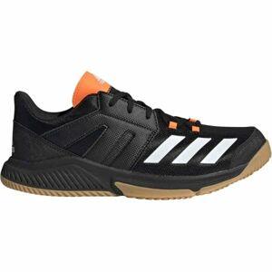 adidas ESSENCE černá 9 - Pánská házenkářská obuv