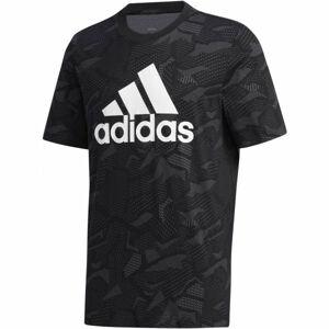 adidas ESSENTIALS AOP T-SHIRT  2XL - Pánské triko