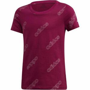 adidas YG FAV TEE  164 - Dívčí tričko