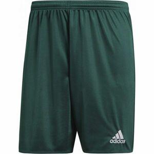 adidas PARMA 16 SHORT JR tmavě zelená 164 - Juniorské fotbalové trenky