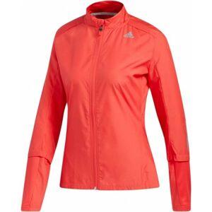adidas RS WIND JCK W oranžová XS - Dámská běžecká bunda