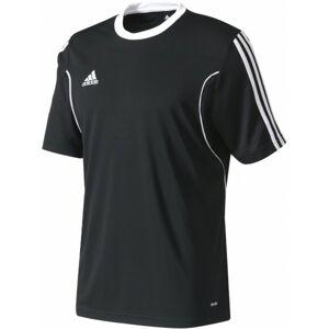 adidas SQUAD 13 JERSEY SS JR černá 140 - Juniorský dres
