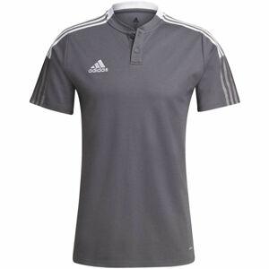adidas TIRO21 POLO  XL - Pánské fotbalové triko