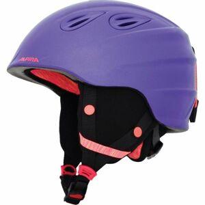Alpina Sports GRAP 2.0 JR fialová (51 - 54) - Dětská lyžařská helma