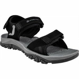 ALPINE PRO ALMAN černá 42 - Pánské sandály