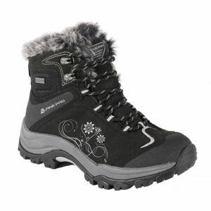 ALPINE PRO BANOFFE černá 38 - Dámská zimní obuv