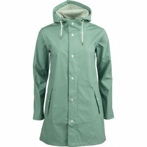ALPINE PRO BARNIKA světle zelená M - Dámská bunda
