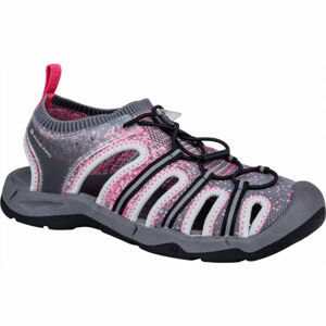 ALPINE PRO DROMA šedá 39 - Dámské sportovní sandály