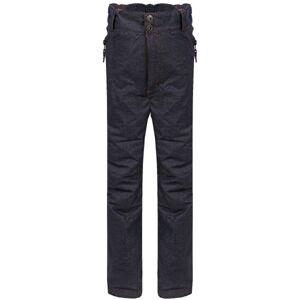 ALPINE PRO GAMO tmavě šedá 128-134 - Dětské kalhoty