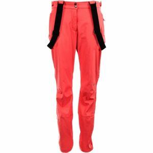 ALPINE PRO HIRUKA 2 oranžová XS - Dámské softshellové kalhoty