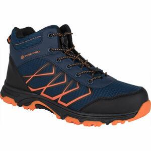 ALPINE PRO JACOBO MID oranžová 35 - Dětská outdoorová obuv