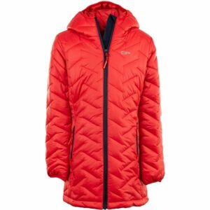 ALPINE PRO EASO 2 černá 152-158 - Dětský kabát