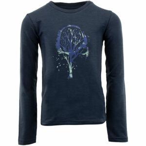 ALPINE PRO NOKOSO modrá 140-146 - Dětské triko