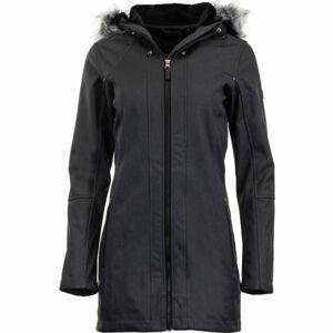 ALPINE PRO DUMUZA černá S - Dámský softshellový kabát