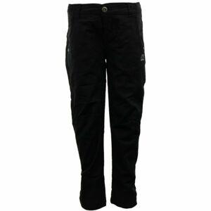 ALPINE PRO LIGHTO černá 140-146 - Dětské kalhoty