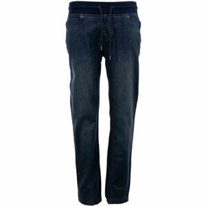 ALPINE PRO YAKOVA modrá M - Dámské kalhoty