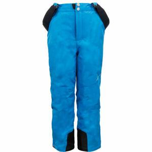 ALPINE PRO MEGGO modrá 152-158 - Dětské lyžařské kalhoty
