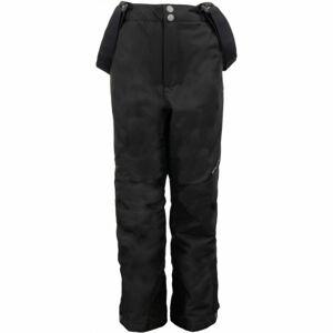 ALPINE PRO MEGGO černá 128-134 - Dětské lyžařské kalhoty