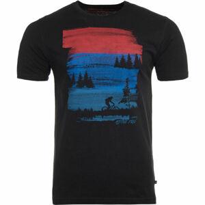 ALPINE PRO NIGHIL  L - Pánské tričko