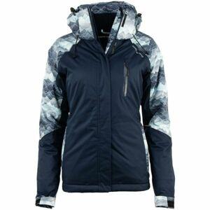 ALPINE PRO RIANA tmavě modrá S - Dámská lyžařská bunda