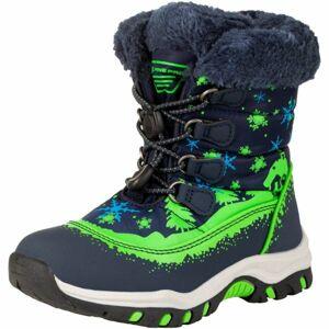ALPINE PRO TREJO bílá 28 - Dětská zimní obuv
