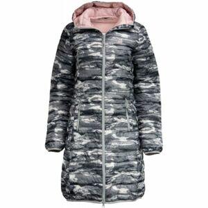 ALPINE PRO WENZHA 3 šedá XL - Dámský kabát